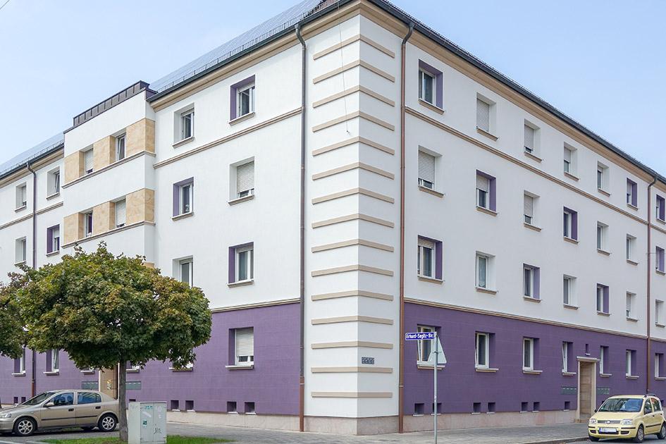 Erhard Segitz Straße in Fürth